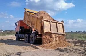 Карьерный песок в строительстве