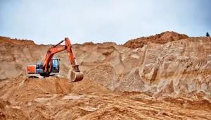Карьерный песок добыча