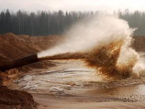 Карьерный песок промывка
