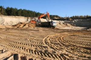 Карьерный песок с примесями