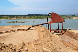 Очистка карьерного песка