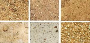 Разновидности карьерного песка