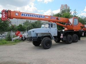 Автокран 25 Т Урал