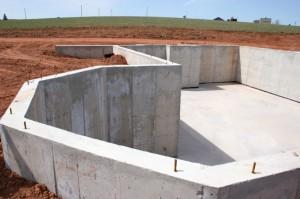 Фундамент из бетона