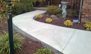 бетон для дорожек