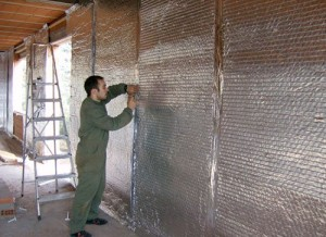 вспененный полиэтилен утепление стены